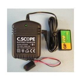 Batterie 9v et Chargeur C.SCOPE